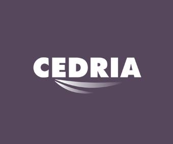 logo CEDRIA. Colaborador CMBMediala