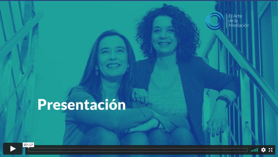 PRESENTACIÓN EL ARTE DE LA MEDIACIÓN
