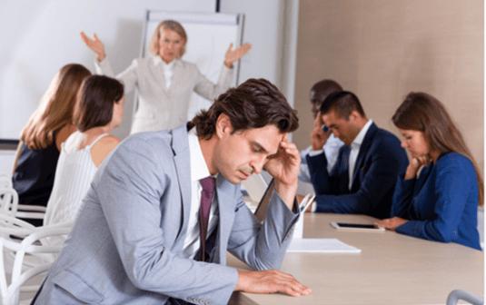 Gestion de conflictos en reuniones de trabajo