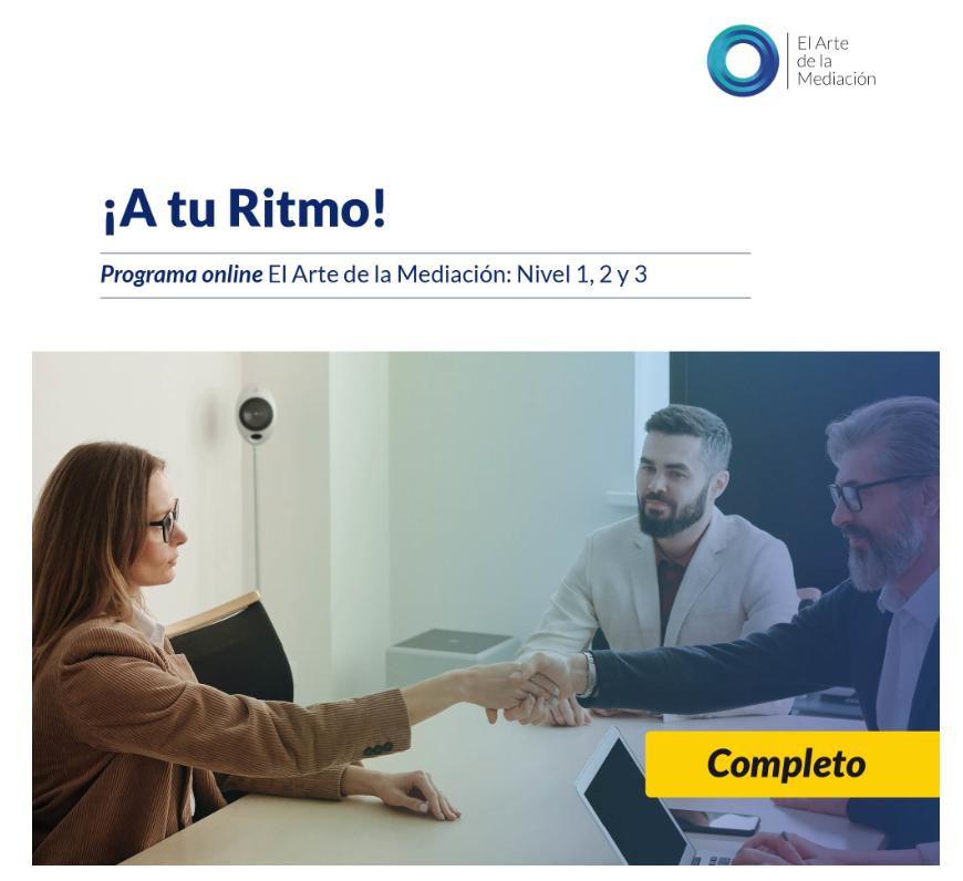 EL ARTE DE LA MEDIACIÓN- A TU RITMO - COMPETO